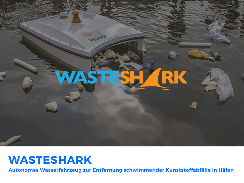 Wasteshark – Marine Litter Prevention with Autonomous Water Drones